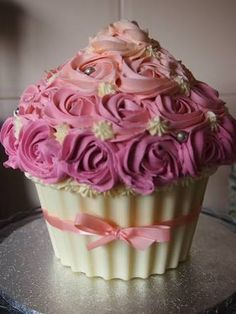Resultado de imagen para big cupcake