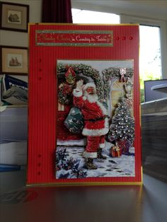 Christmas Card makings from Hunkydory Deco Large Collection Christmas Cards 2017, Christmas Deco, Xmas Cards, Hunky Dory, Heartfelt Creations, Christmas Inspiration, A5, Crafts To Make, Cardmaking