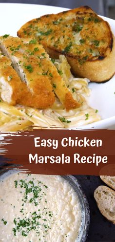 Enjoyable Chicken Marsala Recipe From Top Chefs. Famous Recipe Chicken, Cola Chicken Wings Recipe, Great Chicken Recipes, Meat Recipes, Dinner Recipes, Chinese Chicken, Sesame Chicken, Italian Chicken, Healthy Stuffed Chicken