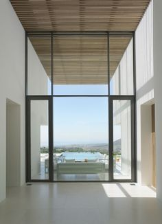 Interior/exterior overflow at a villa in Andalucia, Spain by McLean Quinlan Architects
