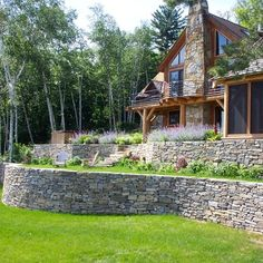 Residential Steep Slope Landscaping Design Ideas, Pictures, Remodel, and Decor - page 7