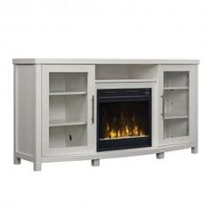 Classicflame Roseville White By Twin Star 18mm6036 Pt85s Tv
