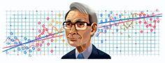 google celebrates Hirotugu Akaike's 90th birthday with google doodle