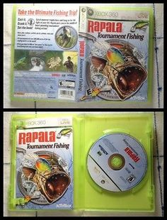 Rapala Tournament Fishing Xbox 360 Fisherman Pinterest