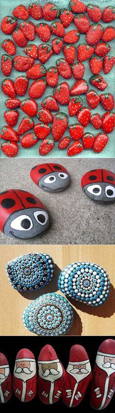 Роспись камней - Craftcafe