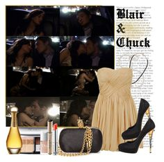 """""""Victor, Victrola - s01e07 - Blair & Chuck"""" by thegossiplook ❤ liked on Polyvore featuring Etten Eller, TIBI, Casadei, Alexander McQueen, Christian Dior, leighton meester, blair waldorf, gossip girl, ed westwick and chuck bass"""