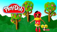 How to make Lalaloopsy Doll out of Play Doh Play-Doh Craft N Toys