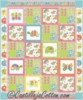 Bundle of Love Quilt Pattern CJC-49461