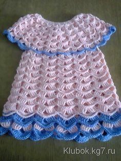 Image Article – Page 569635052864548950 Crochet Baby Dress Free Pattern, Granny Square Crochet Pattern, Baby Girl Crochet, Crochet Baby Clothes, Crochet Stitches, Knit Crochet, Crochet Cushion Cover, Baby Poncho, Lace Decor