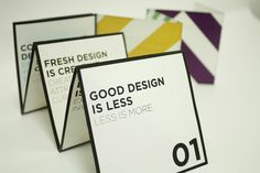 Good Design Manifesto by Minji Cha, via Behance