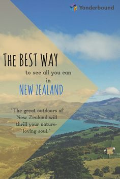 There are so many different ways you can experience this beautiful country, but a guided tour will take you off the beaten path to some of the country's most spectacular and little known spots. New Zealand has extraordinary scenery, delicious wine and #culture waiting to be explored. Find my story on https://yonderbound.com/travel-stories/public-writers/the-best-way-to-see-all-you-can-in-new-zealand/3088
