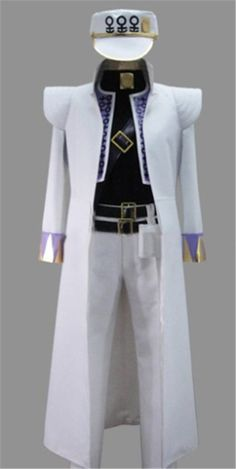 Vicwin-One Jojo's Bizarre Adventure Kujou Jotarou Cosplay Costume * Read more at the image link.