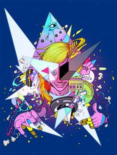 Various Illustrations Works 2012 by Sakiroo Choi, via Behance Art And Illustration, Character Illustration, Inspiration Art, Creative Inspiration, Caricatures, Art Addiction, Art Design, Types Of Art, Oeuvre D'art
