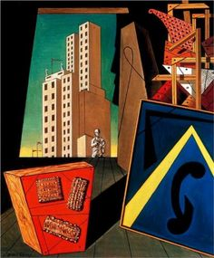 Giorgio de Chirico (1888 - 1978) | Metaphysical Art | The Evangelical still life
