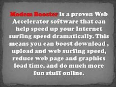 \n        Modem Booster Review - What You Need to Know About Modem Booster\n      - YouTube\n