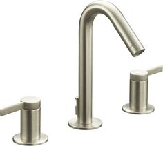 View the Kohler K-942-4 Stillness Widespread Bathroom Faucet with Ultra-Glide Valve Technology - Free Metal Pop-Up Drain Assembly with purchase at Build.com.
