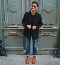 Look by by men_stylefashion Cape Cod Collegiate, Mens Cape, Brunch Dress, Best Shopping Sites, Stud Muffin, Street Style, Men Street, Attractive Men, Mens Fashion