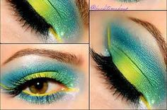 Tropical Eyes Are The New Smokey Eyes And They're Mesmerizing