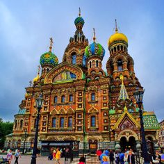 Church of the Savior on Blood -  St. Petersburg - Russia