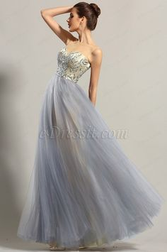 Sleeveless Sweetheart Neck Prom Dress Ball Gown