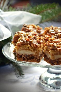 Ciasto Snickers Apple Pie, Tiramisu, Waffles, Biscuits, Cookies, Baking, Breakfast, Ethnic Recipes, Layer Cakes