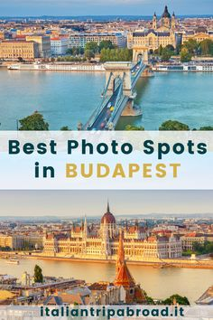 Best photo spots in Budapest