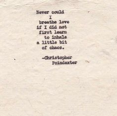 Christopher Poindexter https://www.facebook.com/Daystoinspire