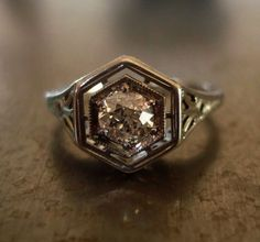 Vintage Diamond Rings Com lest Jewellery Box House out Vintage Art Deco Engagement Rings Etsy each Jewellery Store Liverpool Art Deco Diamond Rings, Art Deco Ring, Art Deco Jewelry, Jewelry Shop, Jewelry Design, Jewellery Box, Jewelry Stores, Tanishq Jewellery, Jewellery Exhibition