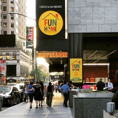 Image result for fun home theatre marquee