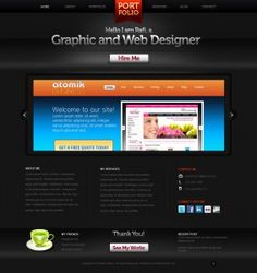 Port Folio Template