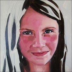 How to paint portraits from photograph, step-by-step tutorial