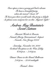 Image result for sweet 16 invitations wording