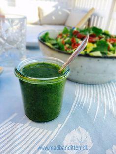 Grøn persilledressing - perfekt til sommerens grill-middage