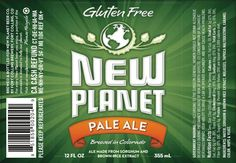 New Planet Gluten Free Pale Ale