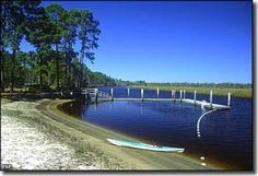 Ochlockonee River State Park: A view of the park boat landing