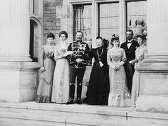 May 24, 1900, Friedrichshof; Crown Princess Sophie of Greece; Victoria, Princess…