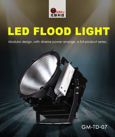 # LED flood light;Respirator design, waterproof design, eliminating mist, avoiding condensation, improving quality, extending the lifespan. http://gmkjled.com