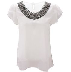 d2199b103855e Benibos Women Casual Short Sleeve Slim Batwing Chiffon Tshirts Elegant Tops  Blouse -- To view further for this item