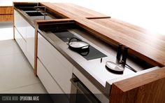 Un prodotto di alta qualità per cucine raffinate attente all'evolversi delle mode con equilibrio e stile.