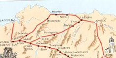 Blog de historia del reino de León, mapas antiguos