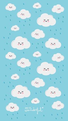 Wallpaper n uvem Clouds Wallpaper Iphone, Cloud Wallpaper, Kawaii Wallpaper, Pastel Wallpaper, Tumblr Wallpaper, Galaxy Wallpaper, Screen Wallpaper, Mr Wonderful, Cute Backgrounds