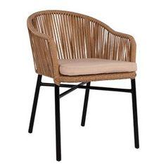 Καρέκλες και πολυθρόνες εξωτερικού χώρου σε οικονομικές Outdoor Chairs, Outdoor Furniture, Outdoor Decor, Decoration, Aluminium, Wicker, Beige, Living Room, House Styles