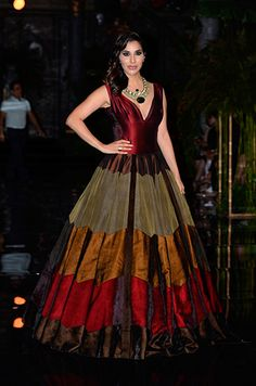 Sophie Choudry in a Manish Malhotra gown.