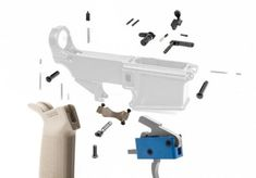 Our Lower Receiver Parts Kits (LPK's) include everything you'll need to put together a well-functioning and sleek Lower. Pistol Holster, Holsters, Ar 10 Lower, Lower Receiver, Kydex, Weapons Guns, Kit