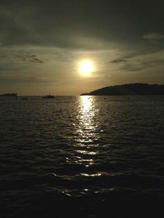 Zonsondergang Borneo
