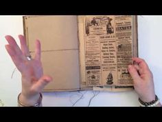 ► My Treasure Books made of junk - YouTube. I love this. Great for any junk collector. (Her voice reminds me of a dear friend so it is doubly fun to watch). ღ