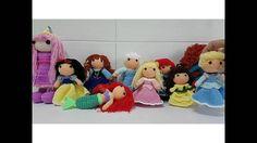 Princesas Disney a Ganchillo
