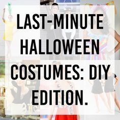 Last minute Halloween costumes || the girl who loved to write