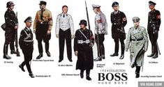 1934 Hugo Boss collection