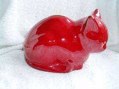 CAT MONEY BOX PIGGY BANK . ERNESTINE SALERNO, ITALY, LABEL